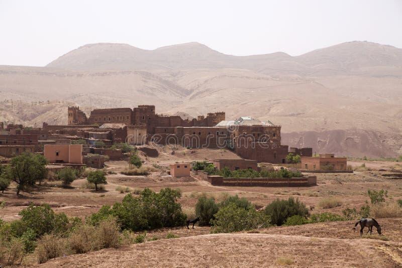 Telouet Kasbah nel Marocco fotografia stock