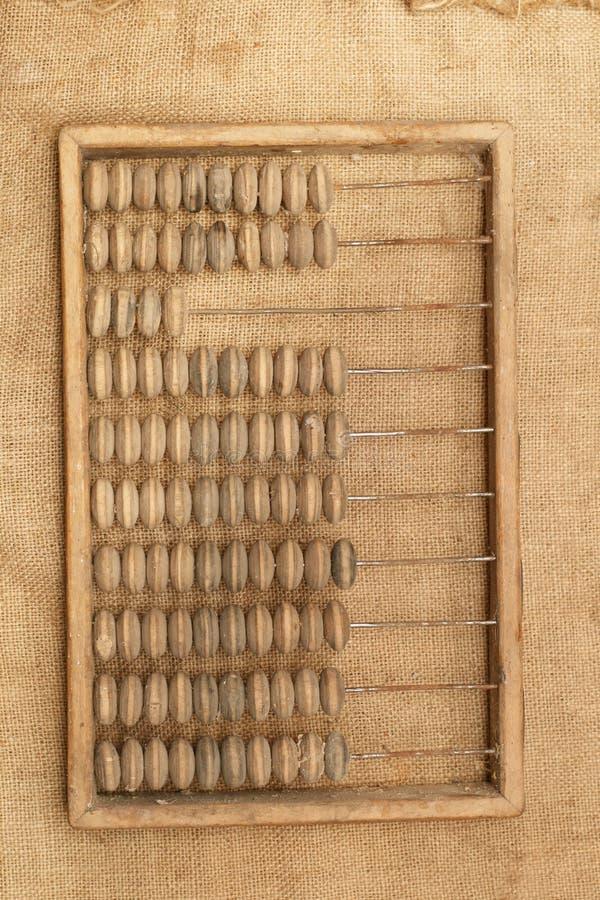 Telraam (oude calculator) royalty-vrije stock foto's