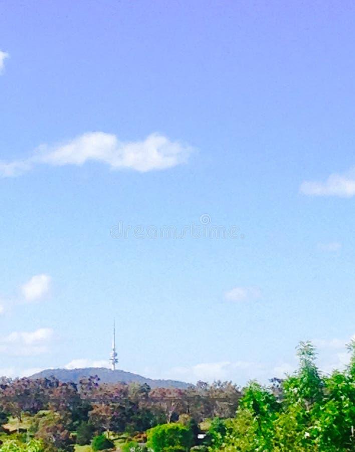 Telstra-toren stock fotografie
