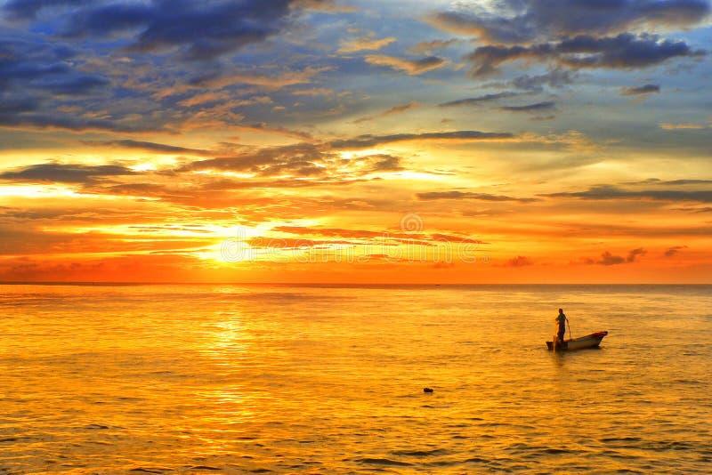 Teluk willa putatan Sabah fotografia royalty free