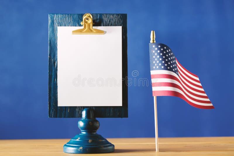 Tema americano di festa immagine stock