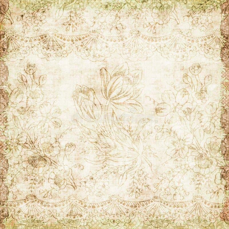 Download Tema Antiguo Floral Del Fondo De La Vendimia Imagen de archivo - Imagen de estacional, grunge: 7289155