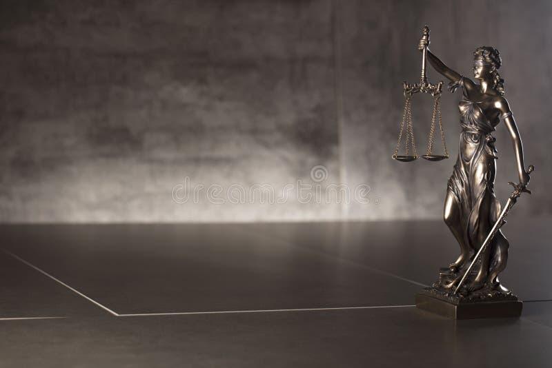 Tema da lei e da justiça Lugar para o texto fotos de stock
