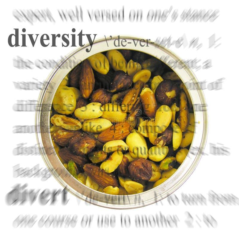 Tema de la diversidad fotografía de archivo libre de regalías