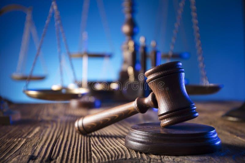 Tema de la ley y de la justicia imagen de archivo libre de regalías