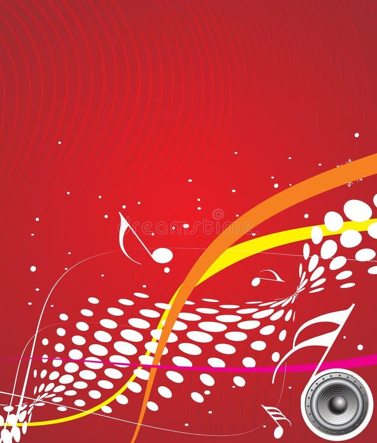 Tema de la música stock de ilustración