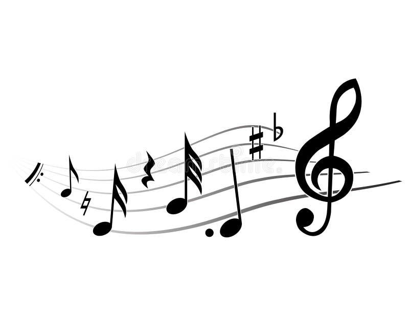 Tema de la música libre illustration
