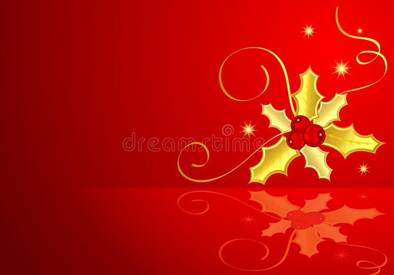 Tema de la Navidad ilustración del vector