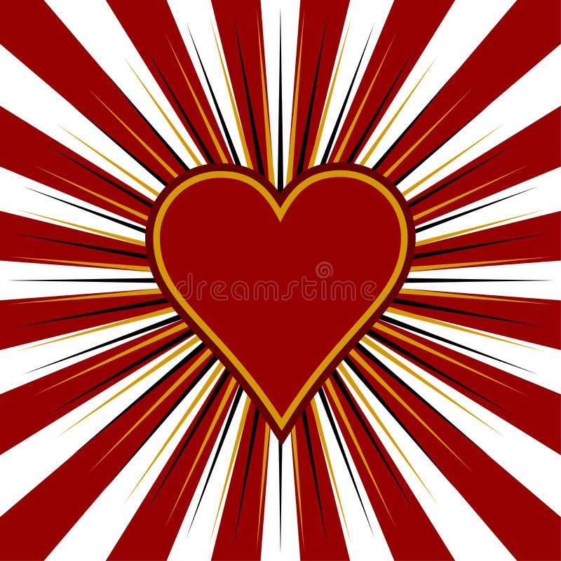 Tema de la tarjeta del día de San Valentín libre illustration