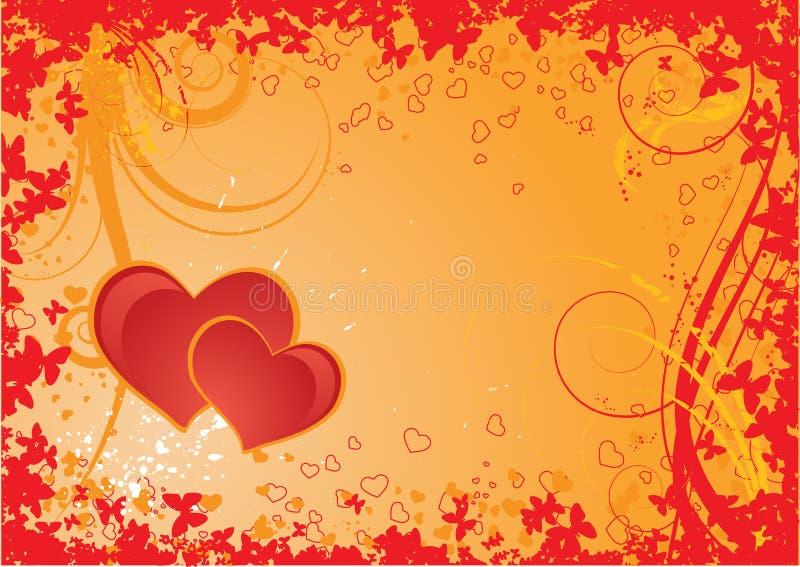 Download Tema Del Biglietto Di S. Valentino Illustrazione Vettoriale - Illustrazione di festa, fiore: 3875400