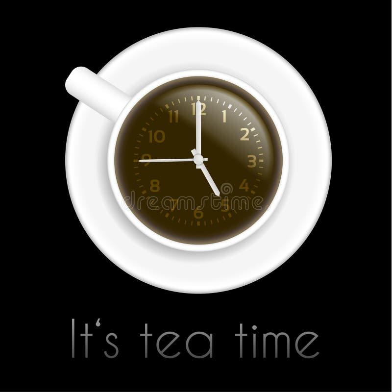 Tema del tiempo del té imagenes de archivo