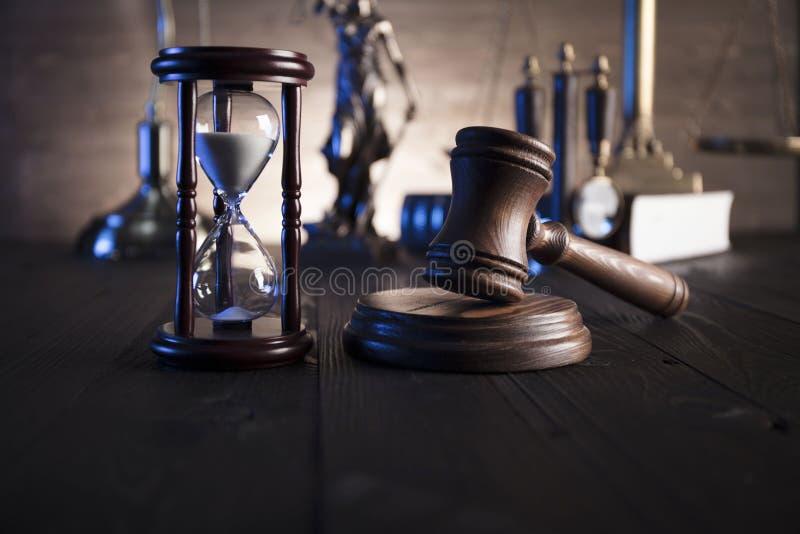 Tema della giustizia e di legge immagini stock libere da diritti