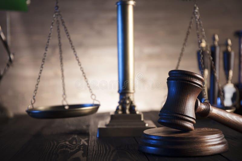 Tema della giustizia e di legge fotografie stock libere da diritti