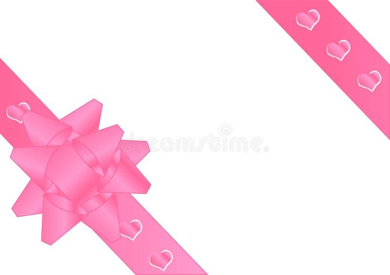 Tema di giorno dei biglietti di S. Valentino royalty illustrazione gratis