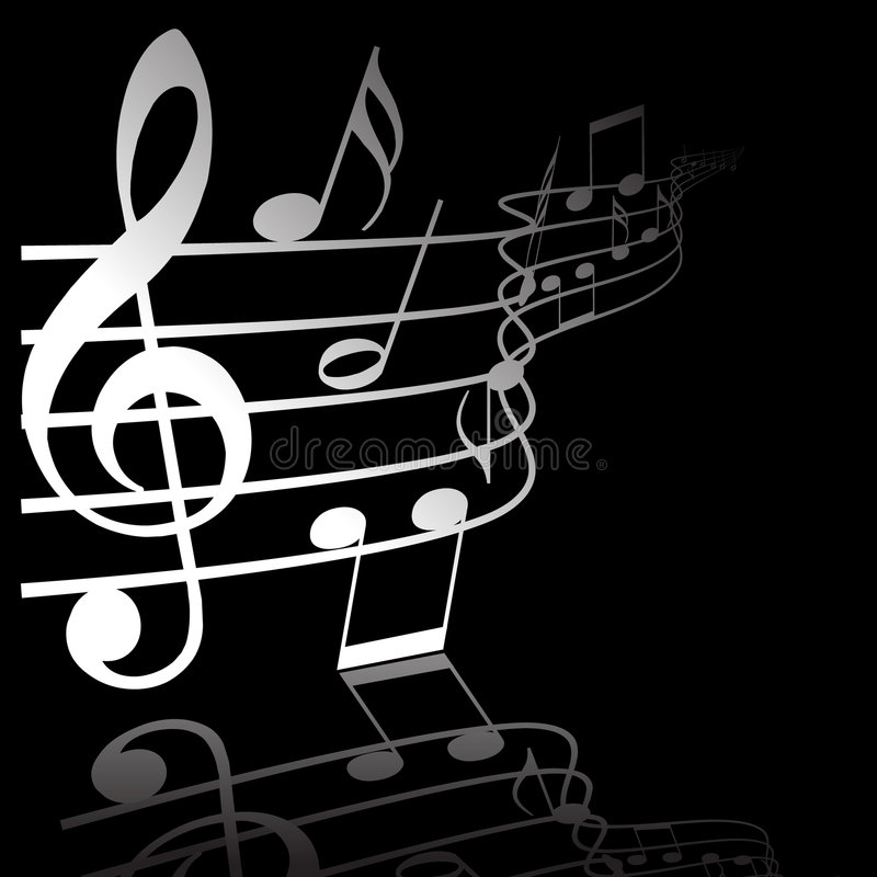 Tema di musica illustrazione vettoriale