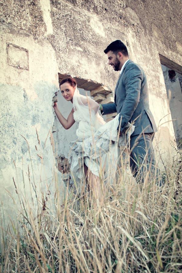 Download Tema do casamento foto de stock. Imagem de menina, groom - 26520980