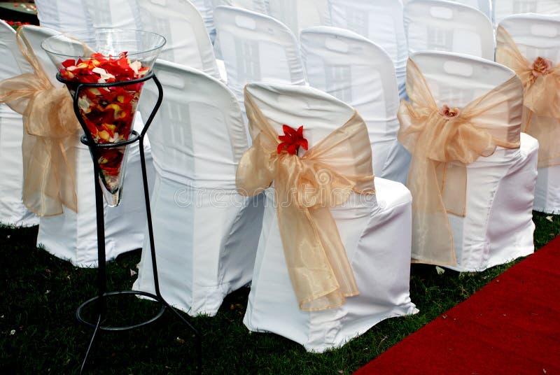 Tema do dia do casamento fotos de stock royalty free