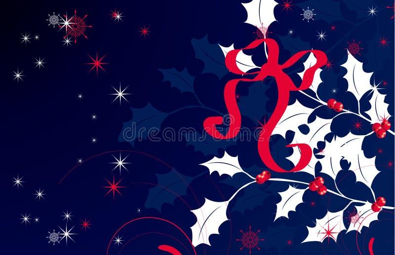 Tema do Natal. ilustração royalty free