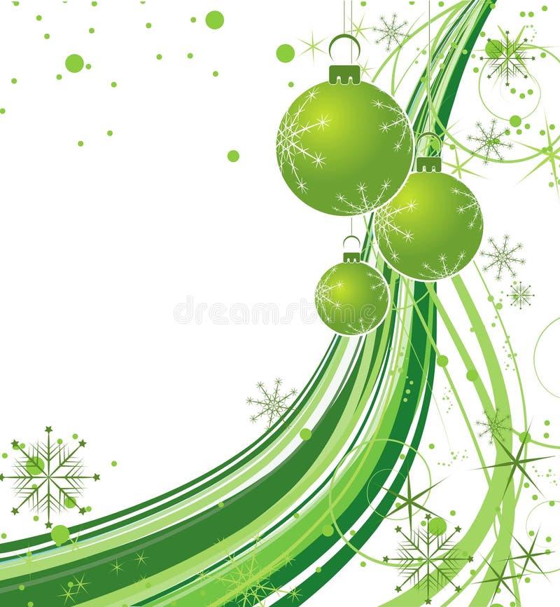 Tema do Natal ilustração do vetor