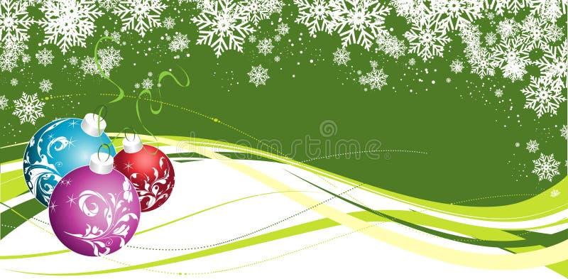 Tema do Natal ilustração royalty free