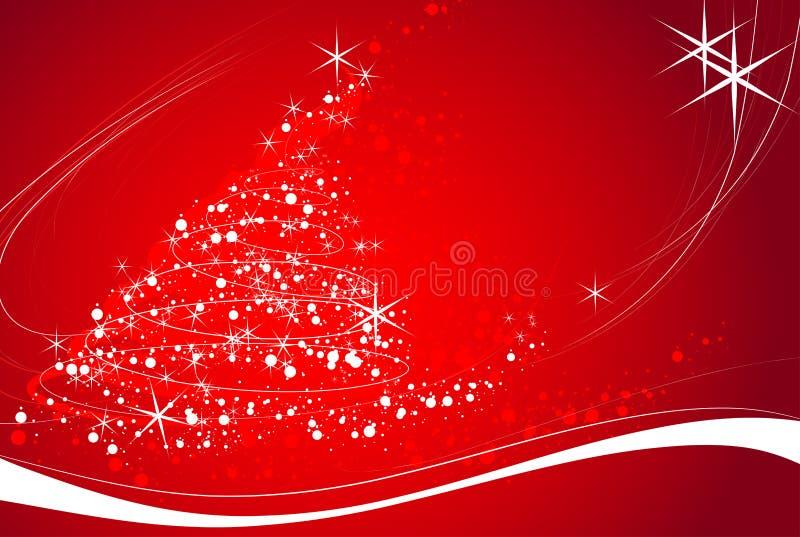 Tema do Natal ilustração stock