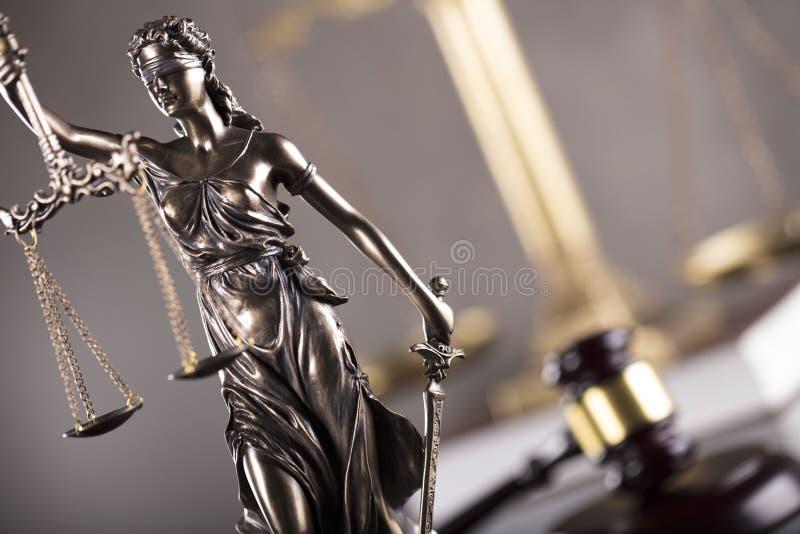 Tema do negócio e da lei imagem de stock