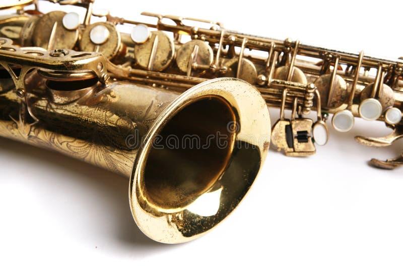 Tema do saxofone fotos de stock