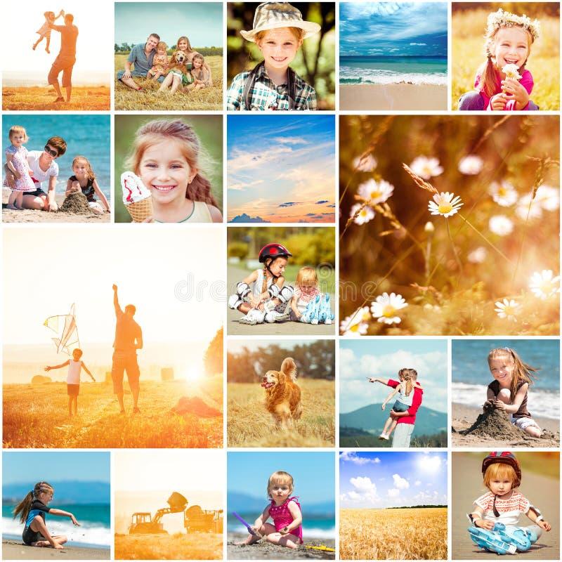 Tema do verão fotografia de stock royalty free