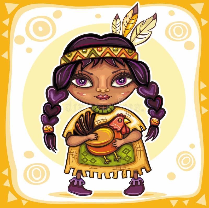 tema för 10 tacksägelse royaltyfri illustrationer