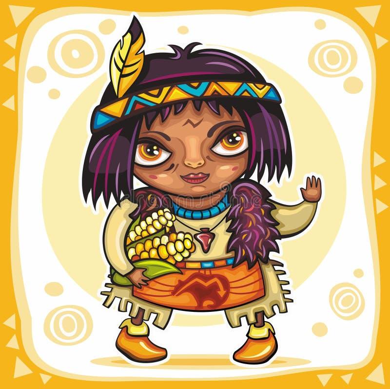tema för 9 tacksägelse royaltyfri illustrationer
