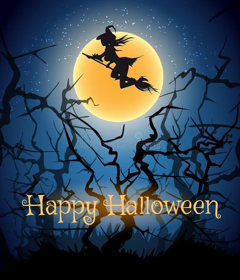 Tema felice di Halloween royalty illustrazione gratis
