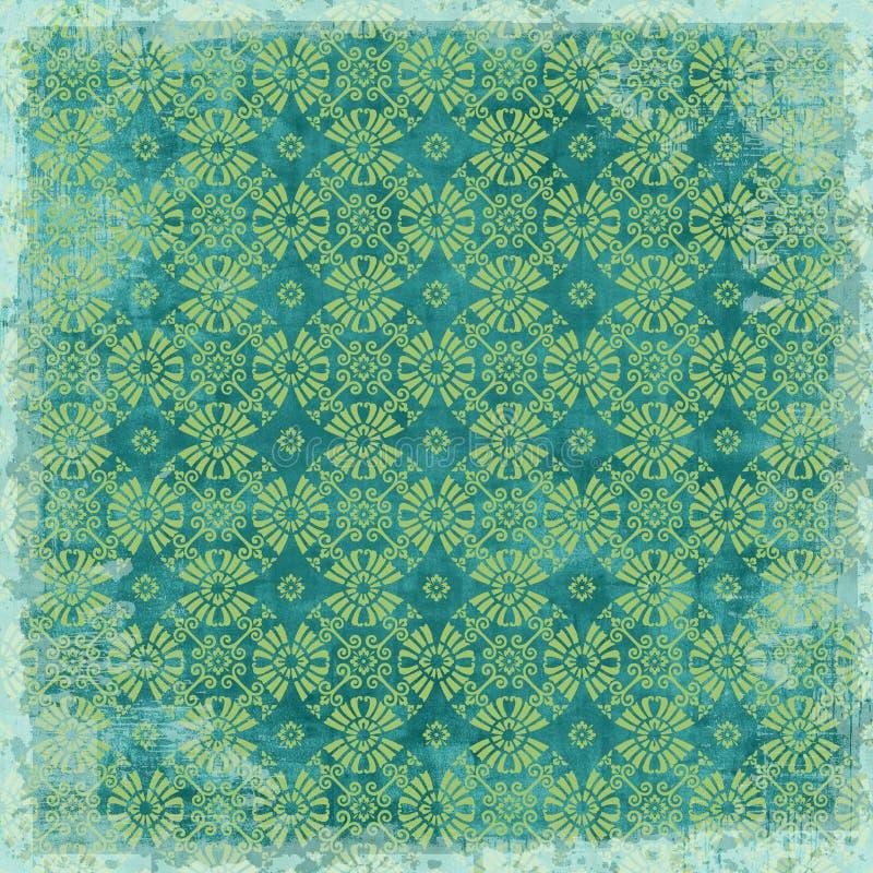 Download Tema Floral De La Navidad Del Fondo De La Vendimia Imagen de archivo - Imagen de damasco, diversión: 7276933