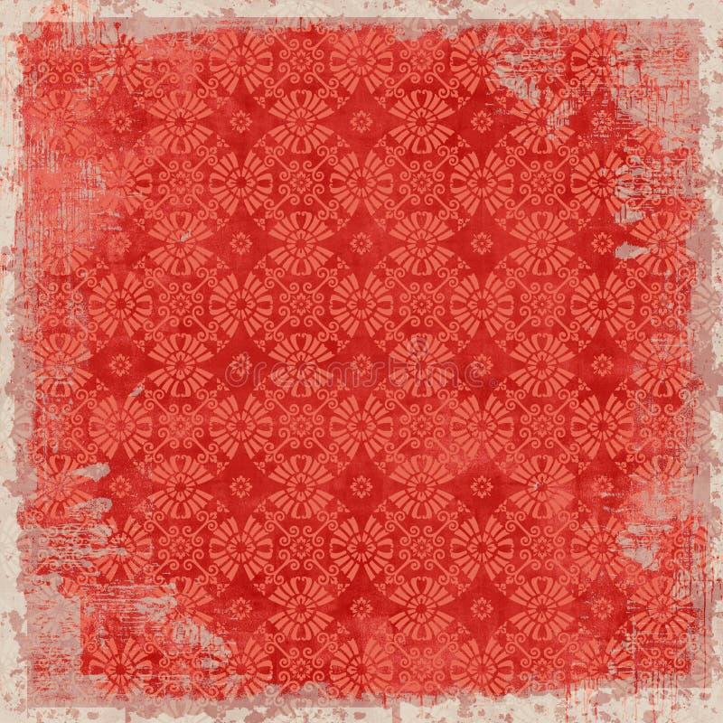 Download Tema Floral De La Navidad Del Fondo De La Vendimia Foto de archivo - Imagen de estación, estacional: 7277100
