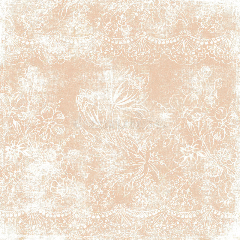 Tema floral de la Navidad del fondo de la vendimia libre illustration