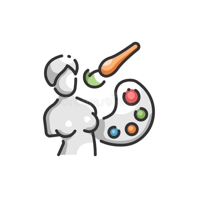 Temas del arte libre illustration