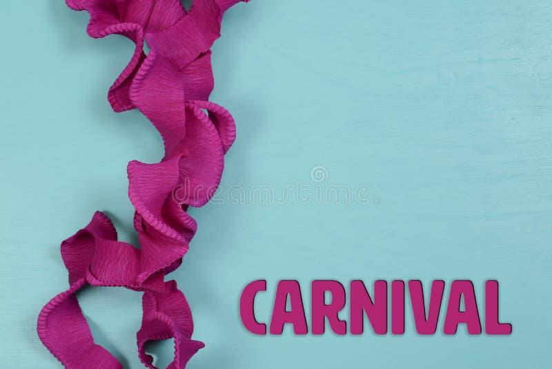 Temas do carnaval com os fundos para ilustrar edições jornalísticas imagem de stock royalty free