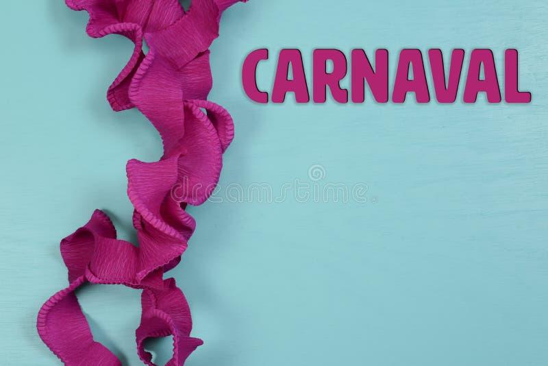 Temas do carnaval com os fundos para ilustrar edições jornalísticas fotos de stock royalty free