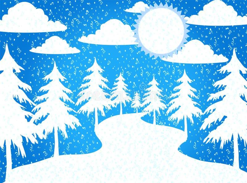 Temas do Feliz Natal ilustração stock
