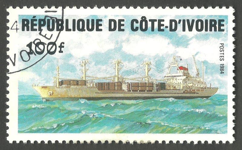 Temas marinos, buque de carga imagen de archivo