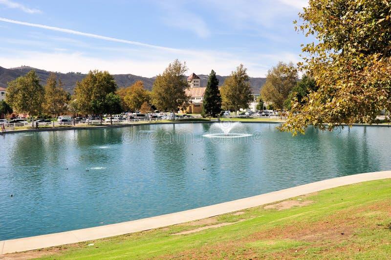 Temecula Duck Pond royaltyfri foto