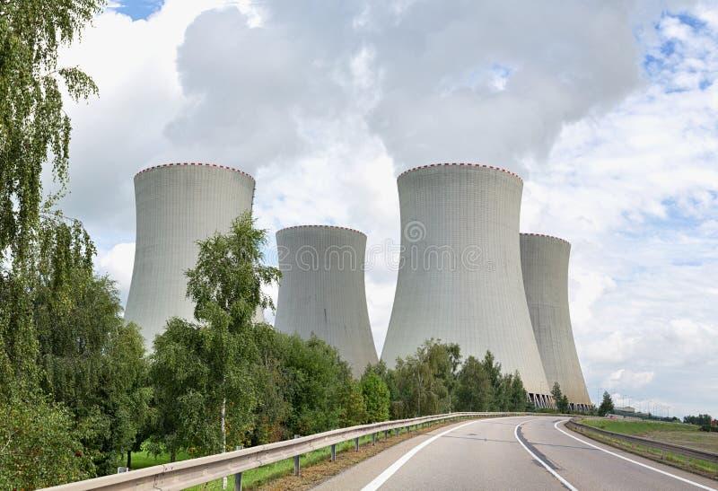 temelin ισχύος πυρηνικών εγκαταστάσεων στοκ εικόνες