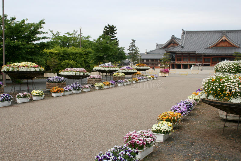 Temole in Nara stock fotografie