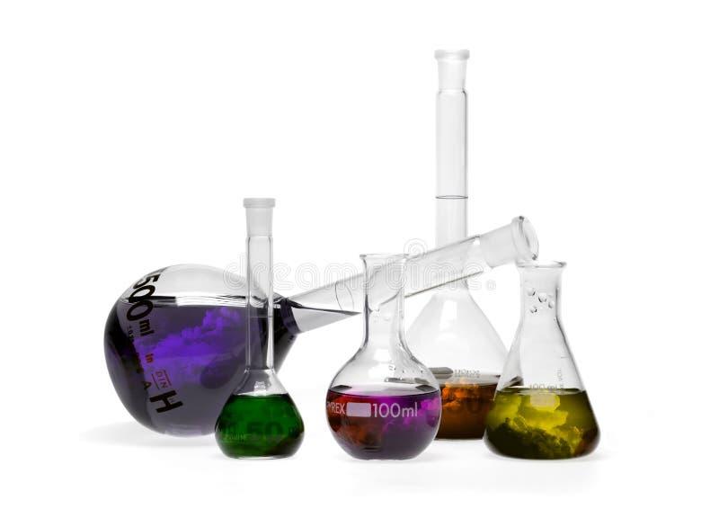 Tempête chimique image stock