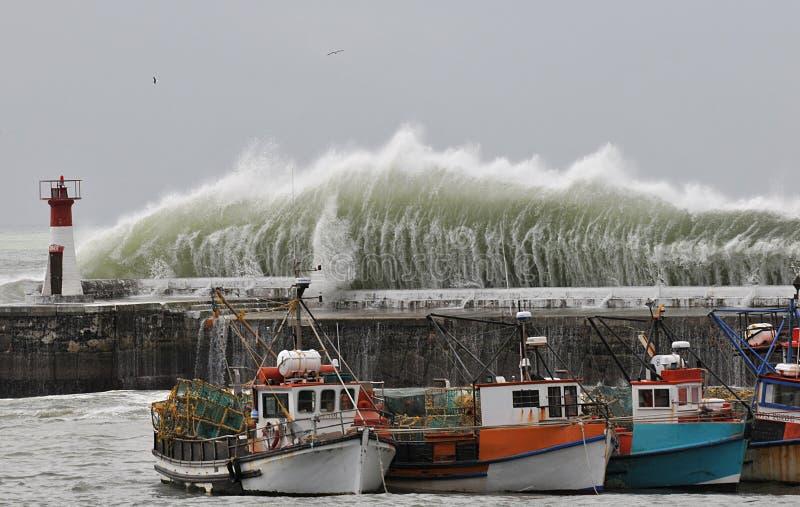 Tempête de Capetown photo stock