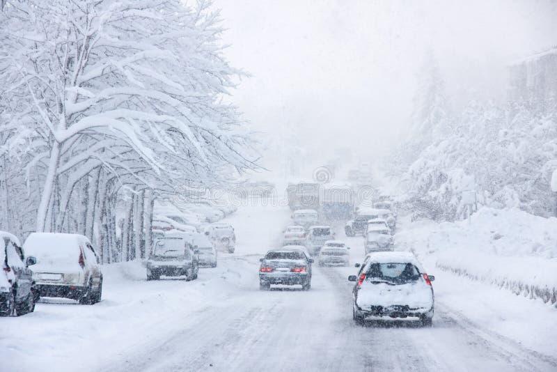 Tempête de neige photos libres de droits