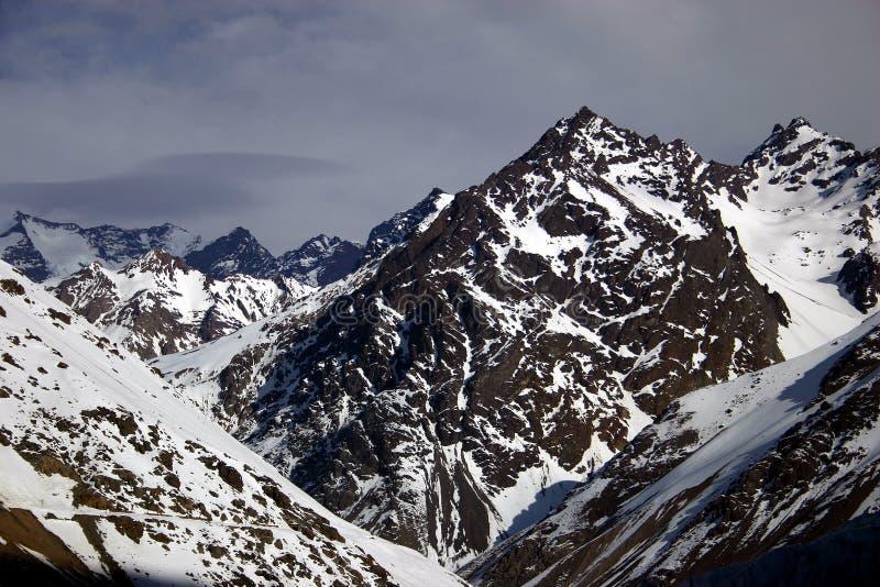 Tempête des Andes photos stock