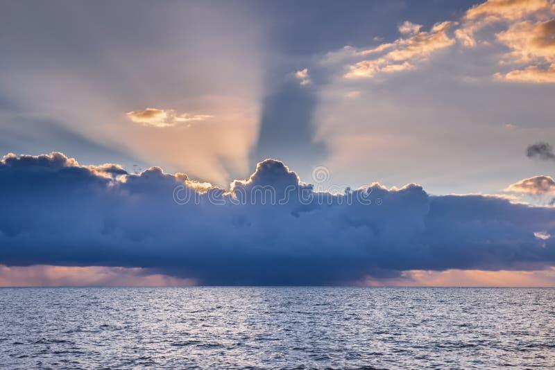 Tempête tropicale à Key West photo stock