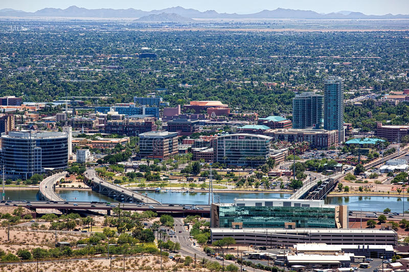 Tempe, Arizona stock afbeelding