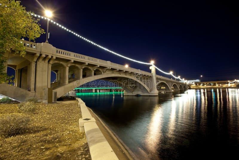 Tempe Arizona Bridge royalty free stock photos