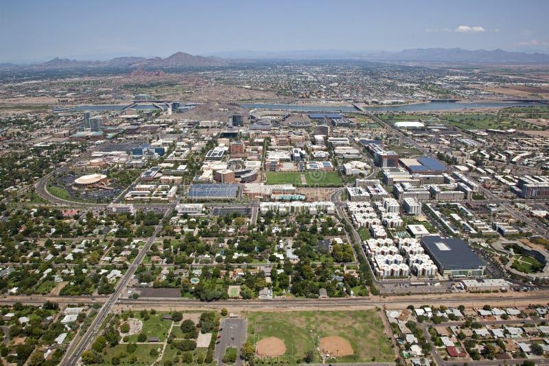Tempe Arizona horisont fotografering för bildbyråer